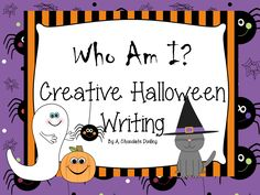 """Students write from the point-of-view of a MYSTERY Halloween CREATURE, providing lots of clues about who they are. My students love keeping their """"identity"""" a secret! 3rd Grade Writing, Writing Classes, 3rd Grade Reading, Teaching Writing, Writing Activities, Classroom Activities, Third Grade, Fourth Grade, Teaching Ideas"""
