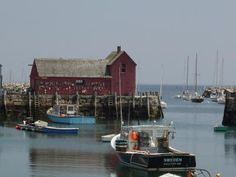 Maine coastal harbor
