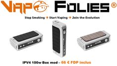 #Mod box Pioneer4you 100 watts – 59,80 € FDP inclus