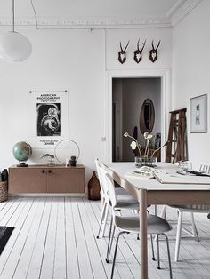 All White Home With Lots Of Character   Via Coco Lapine Design