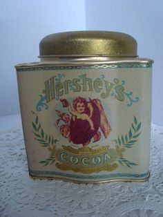 Hershey's Cocoa Tin Vintage  Collector Bristol by OmasBasement, $5.00.   I have this one.