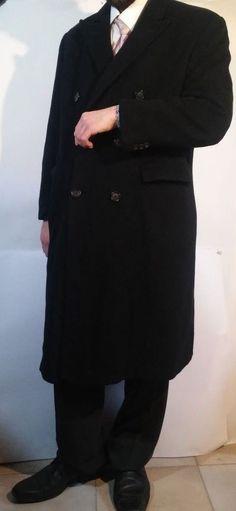 Men's Savoy Taylors Guild London 100% CASHMERE Overcoat Size XL #SavoyTailorsGuild #Coat #Cashmere #eBay #Fashion
