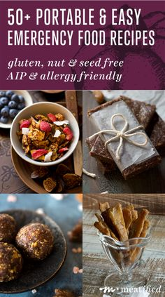 Portable, packable & purse-able: 50+ portable & easy emergency food recipes for avoiding the hangries while staying AIP compliant on the go!