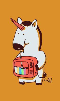 Delicious Colors por Ahmad Ifan Rofiyandi | Coisas da Interwebs | #illustration #ilustração #unicorn