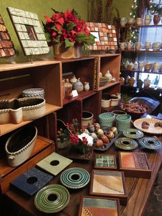 Tile picture frames and ceramic art.