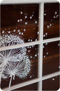 Afbeeldingsresultaat voor winterfenster kreide