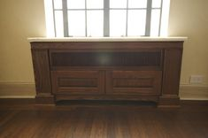 Custom Radiator Cover in a Landmark Building. Custom Radiator Covers, Radiators, Built Ins, Cover Design, House Design, Simple, Interior, Projects, Dining Room