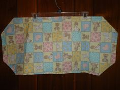 Check out this item in my Etsy shop https://www.etsy.com/listing/250651807/reversible-nursery-dresser-runner-size