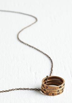 It's About Time Necklace