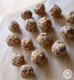 tasty energy balls... for whole 30 compliant  I would switch the last two Ingredients out. Maybe coconut instead of granola