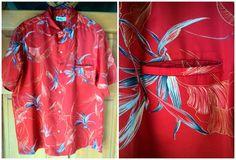 Vintage 80s Hawaiian Shirt Magnum P.I. Tom by caligodessvintage