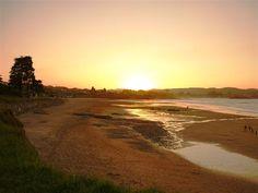Atardecer en la playa de La Espasa (Caravia - Asturias)