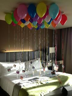 31th birthday surprise to my PRINCE... Thank u pinterest and those who have had this excellent idea :)