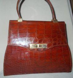Stunning Huge Vintage French 1940 S Honey Color Handbag Super Condition By Vintagehandbagdreams On Etsy Colour