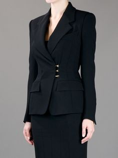 Tom Ford Fitted Hook Fastening Blazer - Concept Store Smets - farfetch.com