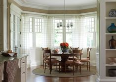 Image result for kitchen nook drapes