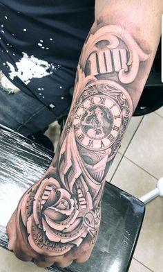 Money Forearm Money Hand Tattoos For Men Chicano Tattoos Sleeve, Forarm Tattoos, Forearm Sleeve Tattoos, Dope Tattoos, Best Sleeve Tattoos, Tattoo Sleeve Designs, Body Art Tattoos, Tattoos Masculinas, Flower Tattoos