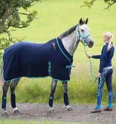 Stand Out In Our Fleece Show Rug Great Post Exercise Or For Travelling