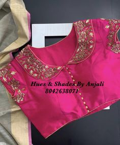 (notitle) – Saree and blouses – (notitle) – Saree und Blusen – Titel Pattu Saree Blouse Designs, Simple Blouse Designs, Stylish Blouse Design, Fancy Blouse Designs, Lehenga Blouse, Ralph & Russo, Churidar, Anarkali, Designer Blouse Patterns