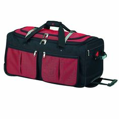 Athalon Luggage 25' 15-Pocket Duffel -- Read more reviews of the product by visiting the link on the image.