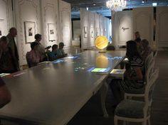 Interactive Video Table - Rautenstrauch-Joset-Museum, Germany