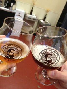 Visit the brewery Wed - Fri 5-8 pm or Saturday 1-4 pm! Adelbert's Brewing - Austin, TX