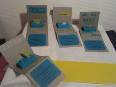 Pop-up cartes invitations