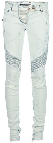 BALMAIN métallique Skinny Jean....!!!!