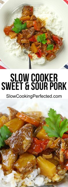 Slow Cooker Sweet and Sour Pork - Slow Cooking Perfected
