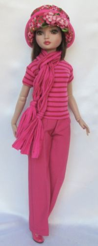 """ELLOWYNE'S BY THE SEA OUTFIT. FOR 16"""" ELLOWYNE, by ssdesigns via eBay, SOLD 3/14/15  $46.99"""
