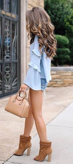 Top Spring And Summer Outfits Women Ideas 44