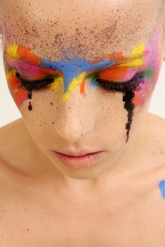 would be the perfect trashion makeup