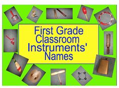 classroom instruments - Google Search