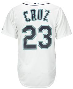 0c39622f23 Majestic Men s Nelson Cruz Seattle Mariners Replica Jersey Men - Sports Fan  Shop By Lids - Macy s