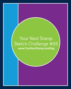 Sketch and Color Challenge #65 – More Inspiration   Your Next Stamp