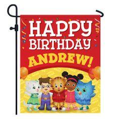 Daniel Tiger's Neighborhood Birthday Yard Sign from PBS Kids Shop