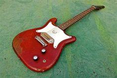 Epiphone Coronet 1965 Epiphone, Vintage Guitars, Wraparound, Acoustic, Rock And Roll, Bass, Bridge, Craft, Guitars