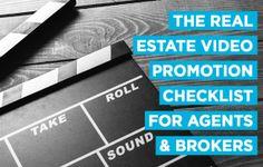 real estate video marketing promotion checklist