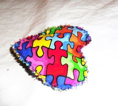 autism awareness lavender sachet home by FourDirectionsLight