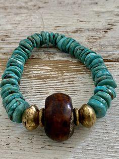 Statement Jewelry, Gemstone Jewelry, Beaded Jewelry, Jewelry Necklaces, Beaded Bracelets, Refashioning, Strand Bracelet, Stone Necklace, Leather Cord
