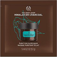 The Body Shop - Himalayan Charcoal Purifying Glow Mask Sachet in Paraben & Benz free (its similar masks aren't benz free) Body Shop At Home, The Body Shop, Organic Tea Tree Oil, Cucumber Face Mask, Charcoal Face Mask, Glow Mask, Facial Masks, Beauty Care, Bath And Body