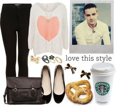 """""""Liam girlfriend #7"""" by leticia-andradegs ❤ liked on Polyvore"""
