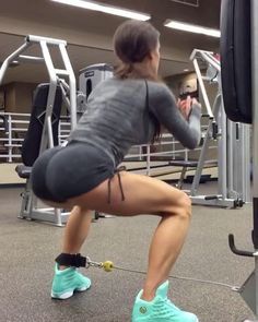 """13.2k Likes, 148 Comments - GymGlutes™ (@gymglutes) on Instagram: """"DOUBLE TAP if you want to see more workout videos🎥 Some more of my lower body favorites!🍑 - ✖️Cable…"""""""
