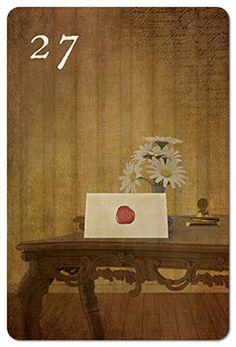 Mondnacht Lenormand Karte 27: Brief
