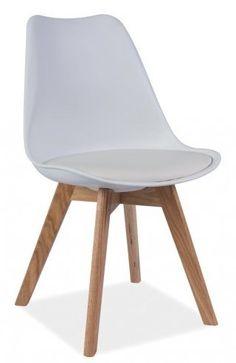 Siedzisko krzesła z poduszką Jerry wykonane są z najwyższej jakości polipropylenu, natomiast poduszka obszyta jest ekoskĂłrą i nie zdejmuje się jej. Stelaż krzesla jest drewniany.Jest to ciekawa propo ...