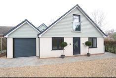 Bungalow Exterior, Bungalow Renovation, House Cladding, Facade House, Cedral Weatherboard, Gloucester House, Dormer House, House Extension Plans, External Cladding