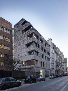 Многофункциональное здание в Париже от фирмы LOG