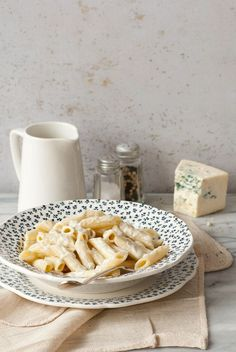 """Penne au """"Gorgonzola"""" Penne, Dairy, Bread, Cheese, Cooking, Food, Kitchens, Recipes, Baking Center"""
