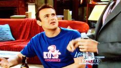 Jason Segel in a KU shirt. Makes me love him even more!