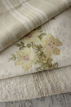 Lovely antique French fabric